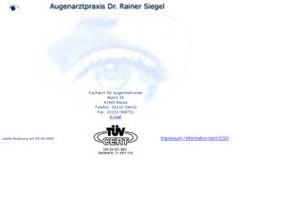 Dr. Rainer Siegel