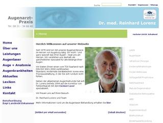Dr. Reinhard Lorenz