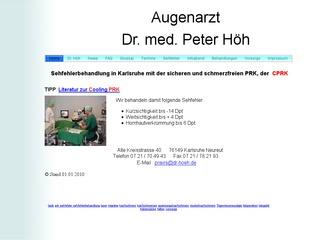 Dr. med. Peter Höh