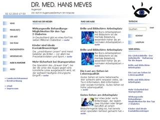 Dr. Hans Meves
