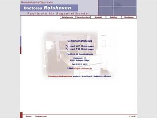 Dr. med. H.P. Rolshoven