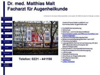 Dr. med. Matthias Malt