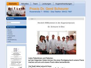 Dr. med. Gerd Scheurer
