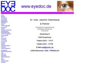 Dr. med. Joachim Oldendörp